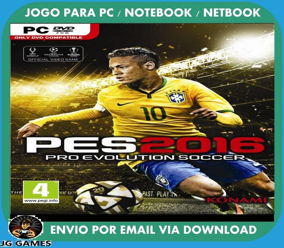 Pro Evolution Soccer Pes 2016 Pc Jogo Digital