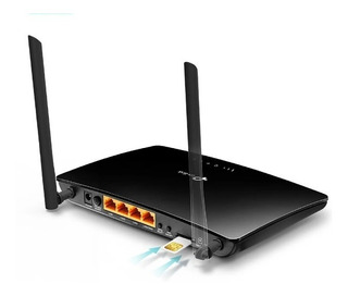 Tp-link Router Inalámbrico 4g Lte Wifi N 300mbps Tl-mr6400