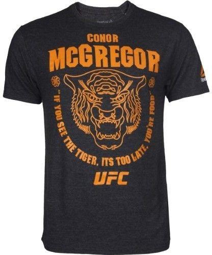 Remeras Y Musculosa Ufc Conor Mcgregor Tiger - Premium