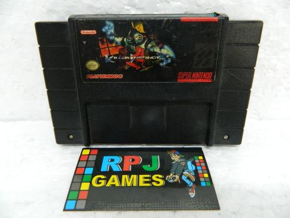 Killer Instinct Original Snes P/ Super Nintendo - Loja Rj