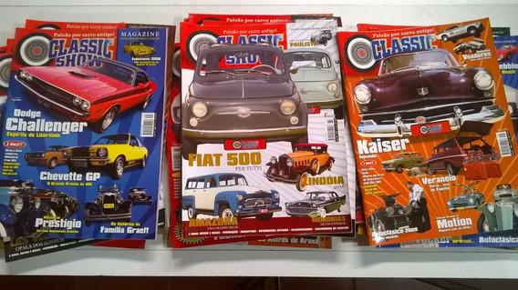 Revista Classic (carros Antigos) Vem 2 Unidade