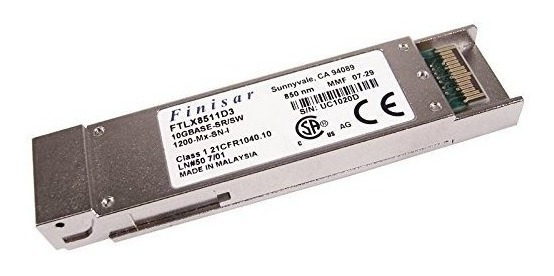 Xfp Transceiver 10gbase-sr/sw 850nm Mmf Finasar Ftlx8511d3