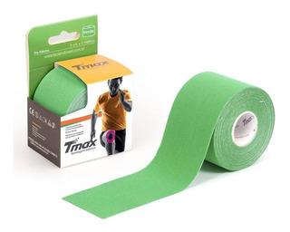 Kinésio Tmax Verde - Bandagem Elástica Terapêutica 5 Cm X 5m