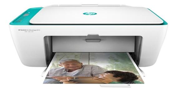 Impressora Multifuncional Hp 2675 Jato De Tinta Wireless