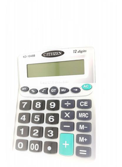 Kit C/6 Calculadora 12 Dígitos Com Números Grandes Atacado