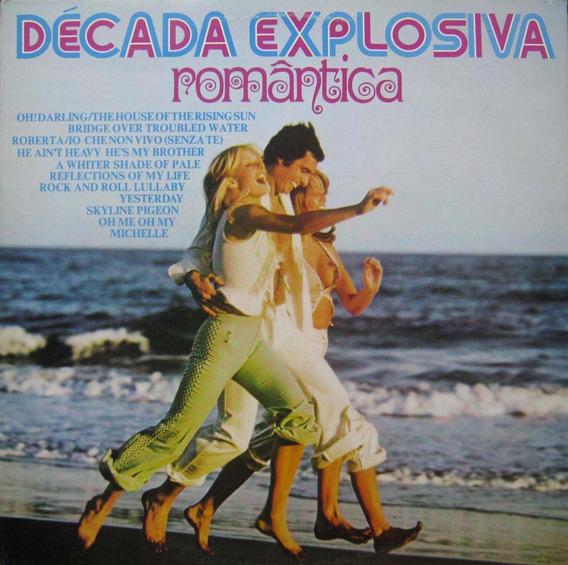 Década Explosiva Romântica Lp Vol. 1