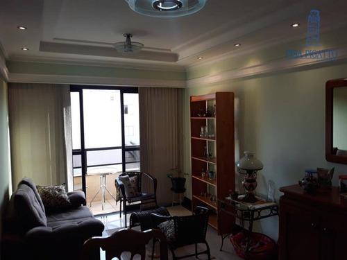 Apartamento Com 3 Dormitórios À Venda, 96 M² Por R$ 650.000,00 - Jardim Vista Alegre - Paulínia/sp - Ap0800