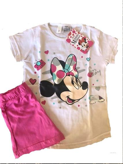 Pijama Minnie Disney Minnie C/unicornio Licencia Original