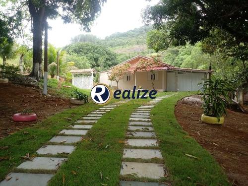 Imagem 1 de 30 de Excelente Chácara De 2 Quartos Em Iguape    Guarapari-es    Realize Negócios Imobiliários - Ch00005 - 33752586