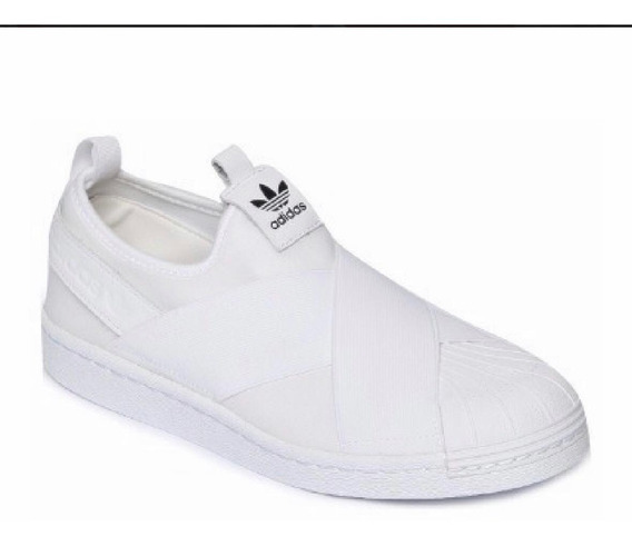 Tenis adidas Superstar Slip On Branco