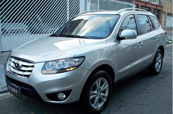 Hyundai Santa Fe Gls 3.5 4x4 Automatica 2012 Prata