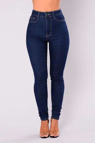 Venta Jeans Tiro Alto Mujer Mercadolibre En Stock