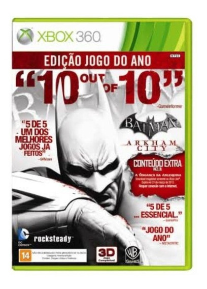 Batman Arkham City - Xbox 360