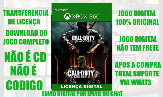 Call Of Duty Black Ops 3 E 1 Xbox 360 Envio Imediato#1