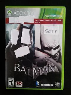 Batman Arkham City Goty Game Of The Year