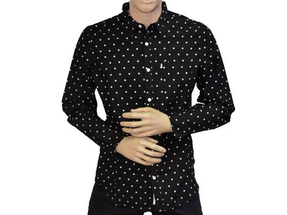 Camisas Casuales Caballeros Cat M2610240-l