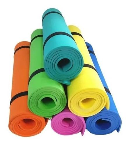 Imagen 1 de 1 de Mat Yoga Pilates Colchoneta Goma Eva 160x57cm X 6mm Ideal