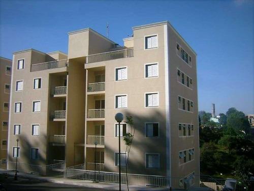 Apartamento Em Granja Viana, Cotia/sp De 52m² 2 Quartos À Venda Por R$ 250.000,00 - Ap963978