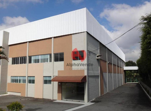 Galpão Para Alugar, 725 M² Por R$ 12.800,00/mês - Votuparim - Santana De Parnaíba/sp - Ga0401