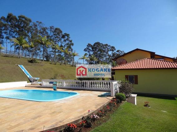 Sítio Com 4 Dormitórios À Venda, 282051 M² Por R$ 2.230.000,00 - Santa Terezinha - São Luiz Do Paraitinga/sp - Si0138