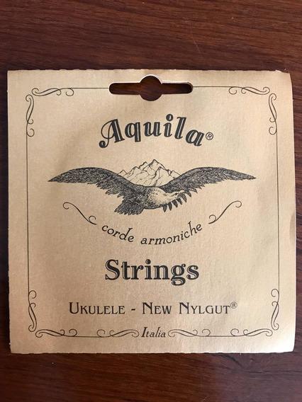 Ukulele Concert New Nylgut Aquila Jogo De Cordas 7u