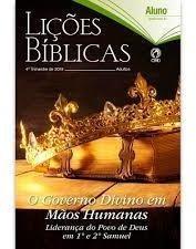 Lições Bíblicas Adultos Alunos Ebd Cpad