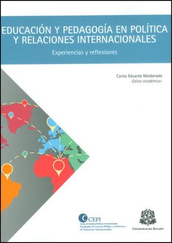 Educación Y Pedagogía En Política Y Relaciones Internacional