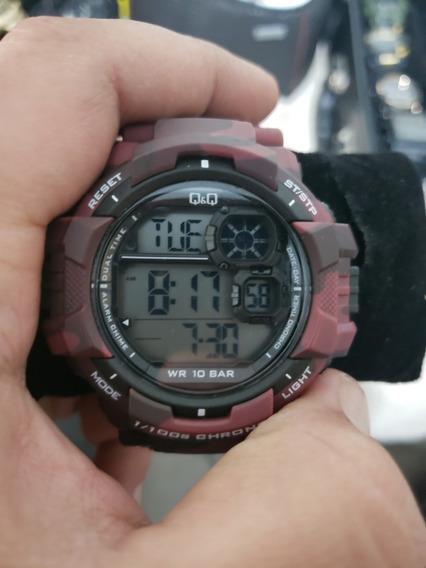 Relógio Q&q Redcamus