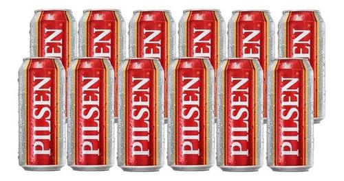 Cerveza Pilsen Lata 473 Cc X12