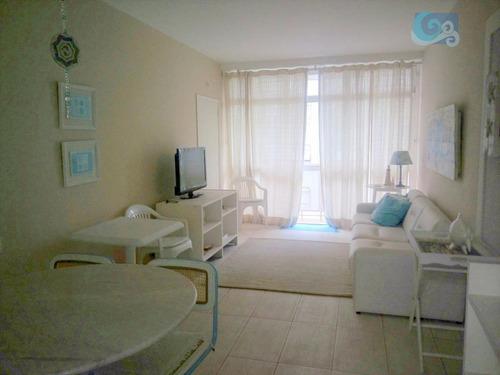 Imagem 1 de 9 de Apartamento Com Ótima Localização Na Pitangueiras - Guarujá - Ap4384
