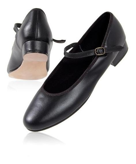 Sapato Feminino Sapateado, Salto 2,5cm Sem Chapa