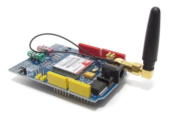 Shield - Gsm / Gprs Sim900 Com Antena Para Arduino