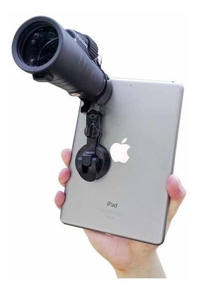 Suporte Para Telescopio Com Ventosa Cm6 Adaptador De Microscopio Celular Monoculo Universal