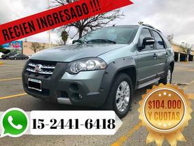 Fiat Palio Weekend 1.6 Adventure 2011 $104.000 Y Cuotas