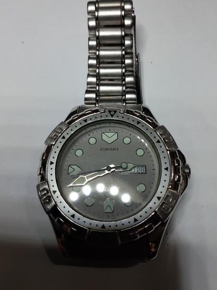 Relógio Casio Md523 Vintage Raro Aco Inox