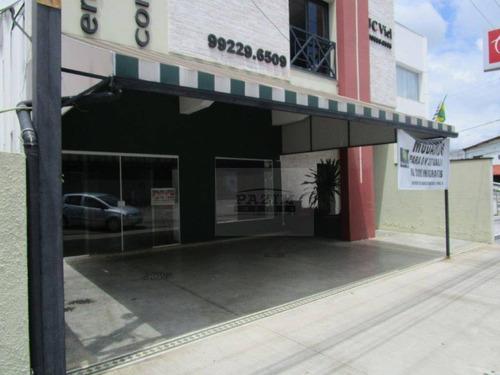 Salão Comercial Para Locação, 100 M² - Jardim Itália - Vinhedo/sp - Sl0067