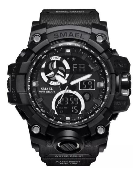 Relógios Smael Esportivo Original -preto