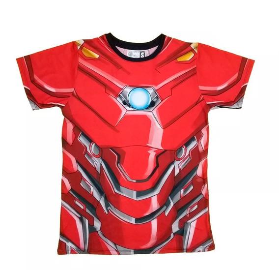 Camiseta Iron Man Exclusiva Camisetas en Mercado Libre