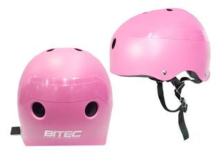Casco Protección Skate-bicicleta- Roller - Niños - Bitec
