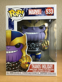 Funko Pop Marvel 533 Thanos (holiday) Original Magic4ever