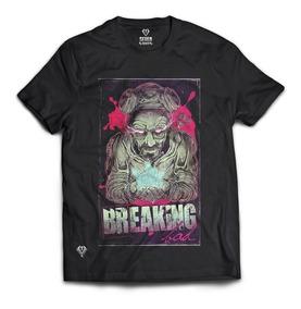 Camisa Camiseta Gola Redonda Breaking Bad Heisenberg