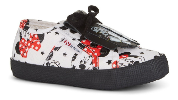 Zapatillas Nena Superga Cartoon 2750 Minnie Originales
