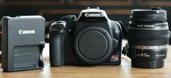 Câmera Fotográfica Profissional Canon Xs