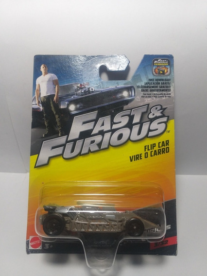 Fast & Furious Flip Car Vire O Carro 3/32 Mattel Escala 1/55