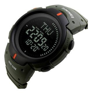 Reloj Sumergible Deportivo Skmei 1231 Luz Cronometro Cuotas
