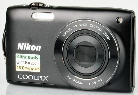 Cámara Digital Nikon Coolplix S3200 - 16 Mpx- Impecable