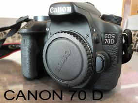 Camera Canon 70d-lente 18-135mm