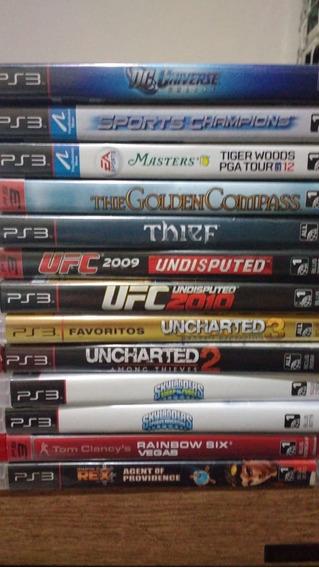 Pacote De 7 Jogos De Playstation 3