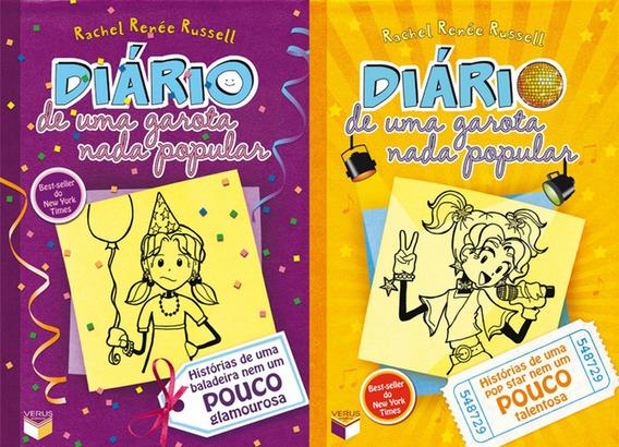 Diário De Uma Garota Nada Popular Volumes 2 E 3