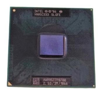 Processador Intel Core 2 Duo Aw80577p8700 3m 2.53ghz 1066